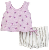 Jessica Simpson Top & Bubble Bloomer Set (Baby Girls)