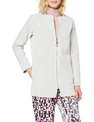 Bench Women's Cardigan Bonded (White CR003), (Size: M)