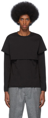 Comme des Garcons Black Layered Long Sleeve T-Shirt