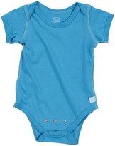 I Play Brights Organic Adjustable Bodysuit (Baby) - Aqua-0-3 Months
