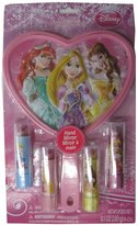 Princess Princesses Girls Lip Disney Character Lip Balm Hand Mirror Set