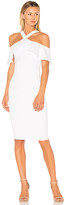 Nookie Hermosa Midi Dress in White. - size M (also in S,XS)