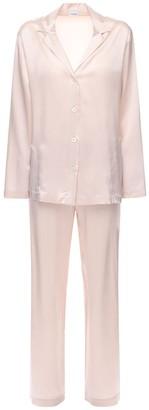 La Perla Silk Satin Pajama Set