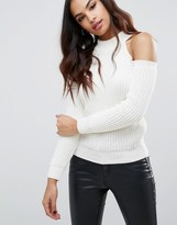 Lipsy Cold Shoulder Sweater