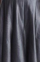 Jay Godfrey 'Dwight' Faux Leather A-Line Dress