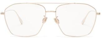 Christian Dior Diorstellaire Aviator Metal Glasses - Gold