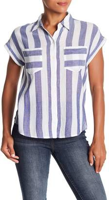 Lucky Brand Striped Blouse T-shirt