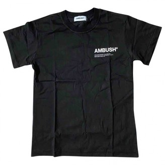 Ambush Black Cotton T-shirts