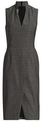 Akris Punto Sleeveless Suiting Sheath Dress