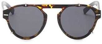 Christian Dior 62MM Black Tie Tortoise-Shell Sunglasses