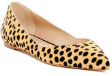 Loeffler Randall Lou Genuine Calf Hair Flat