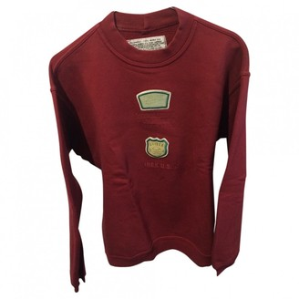 Avirex Burgundy Cotton Knitwear for Women Vintage
