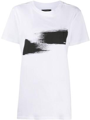 Etoile Isabel Marant abstract-print cotton T-shirt