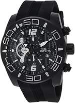 Invicta Men's 'Pro Diver' Quartz Stainless Steel and Silicone Casual Watch, Color: (Model: 24163)
