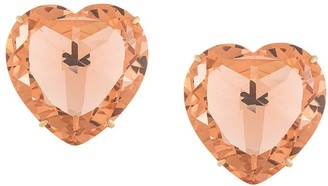 Tory Burch Heart Clip-On Earrings
