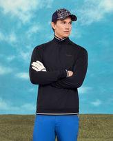 Ted Baker Half zip jersey jumper