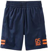 Osh Kosh Boys 4-8 Striped Hem Active Shorts