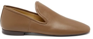 Lemaire Nappa-leather Loafers - Khaki