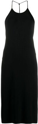 Bottega Veneta Backless Halterneck Jersey Dress