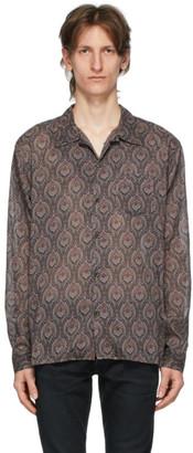 John Elliott Burgundy Seville Shirt