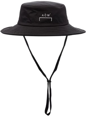 A-Cold-Wall* Wide-Brimmed Logo Hat