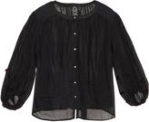 Thierry Colson Pandora cotton-voile blouse