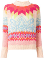 Temperley London colour block jumper - women - Virgin Wool - S