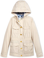 Jessica Simpson Hooded Anorak Jacket, Big Girls (7-16)