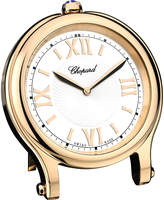 Chopard Happy Sport rose-gold plated table clock