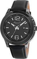 Kenneth Cole 10022558 New York Men's Leather Strap Band Dial Watch