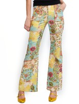 Cynthia Rowley Chinoiserie Print Cargo Flare