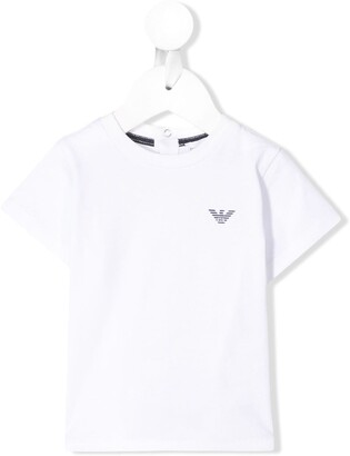 Emporio Armani Kids small logo T-shirt