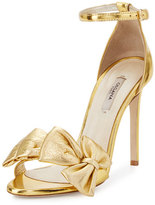 Olgana Paris Delicate Candice Leather Sandal, Gold