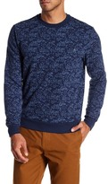 Original Penguin Printed Fleece Crew Neck Sweater