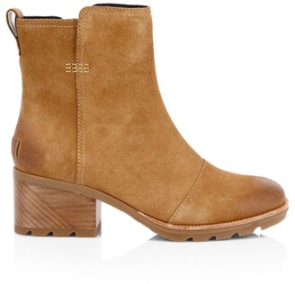 Sorel Cate Suede Ankle Boots