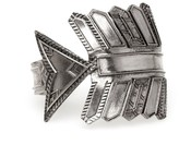 House Of Harlow Antiqued Accented Arrow Cuff