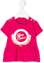 Juicy Couture gathered hem T-shirt