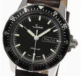 Sinn 104.ST.SA Stainless Steel & Leather with Black Dial Automatic 41mm Men's Watch