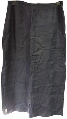 Non Signã© / Unsigned Navy Linen Skirts