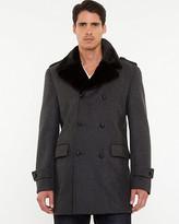 Le Château Wool Blend Notch Collar Coat