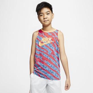 Nike Big Kids (Boys) Tie-Dye Tank Sportswear