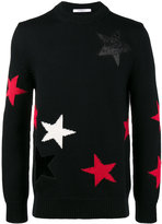 Givenchy cut out star sweater