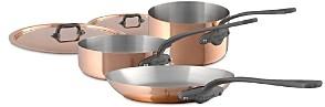 Mauviel M'150c2 Copper 5-Piece Cookware Set