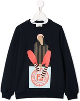 Fendi Girl sweatshirt