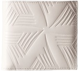 Marni Flower Embossed Leather Bifold Wallet Handbags
