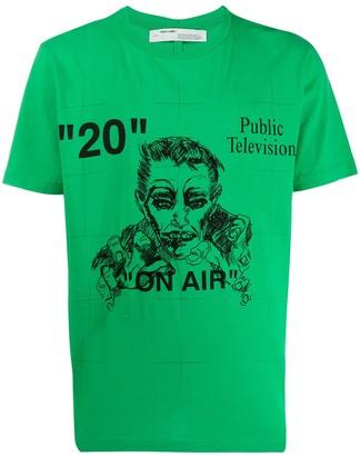 Off-White Public Television T-shirt