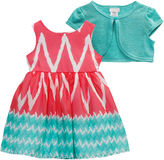Youngland Young Land 2-pc. Jacket Dress Preschool Girls