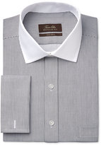 Tasso Elba Men's Classic-Fit Non-Iron Sateen Bengal Stripe French Cuff Dress Shirt, Only at Macy's