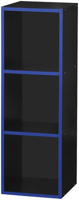Lloyd Pascal Virtuoso 3 Cube Storage with Blue Edging