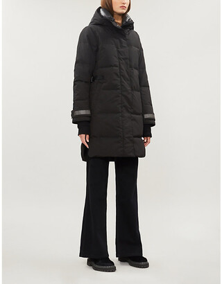 Canada Goose Bennett Black Label shell-down jacket